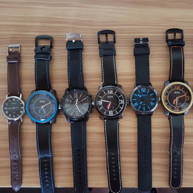 7 Large Men's Watches
