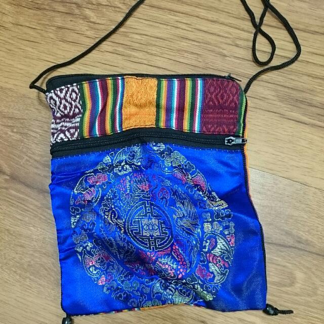 尼泊爾民族風隨身小包包