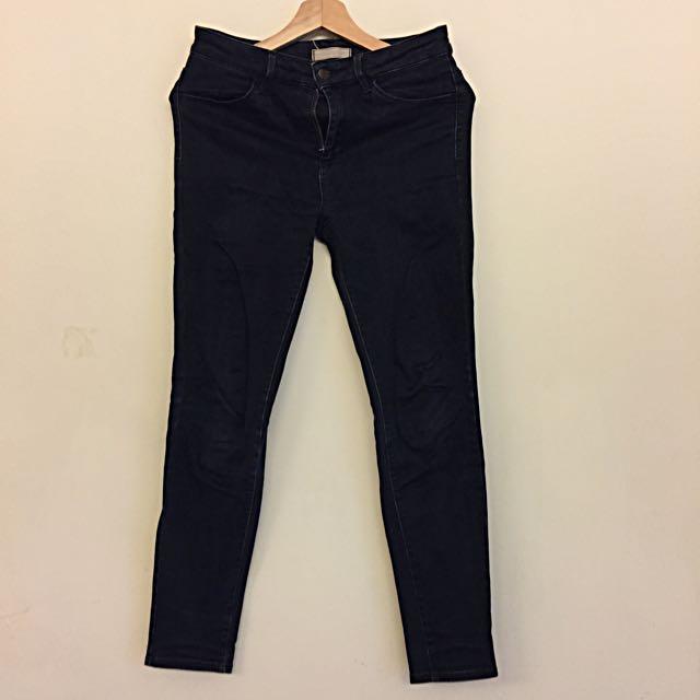 韓版牛仔彈性褲(六月份同價格買一送一)
