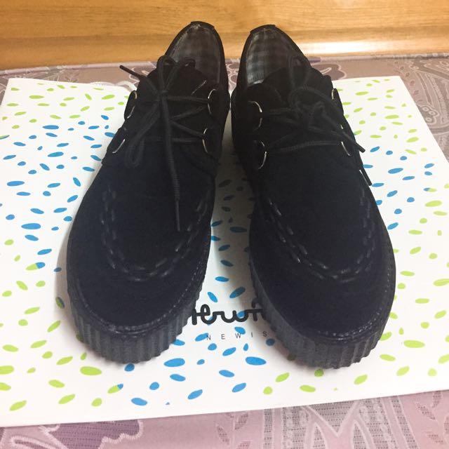 日系厚底鞋