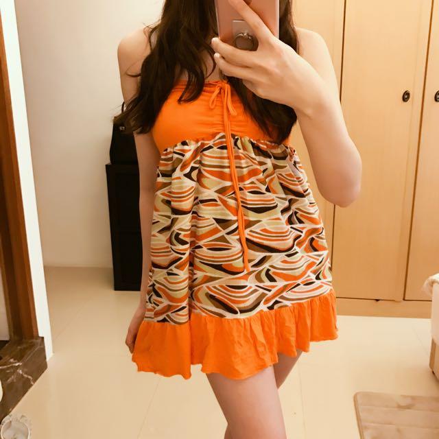 義大利帶回渡假風小洋裝