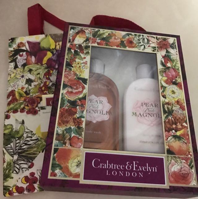 瑰珀翠紅粉木蘭護膚禮盒