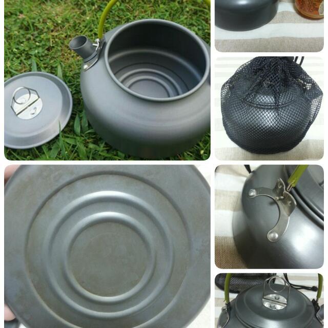 露營 鋁泡茶壺