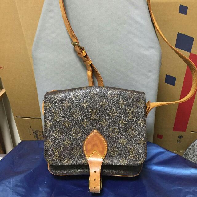 Authentic Lv Vuitton Cartouchiere Sling Bag