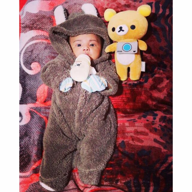 Baju Bulu Bayi Costume