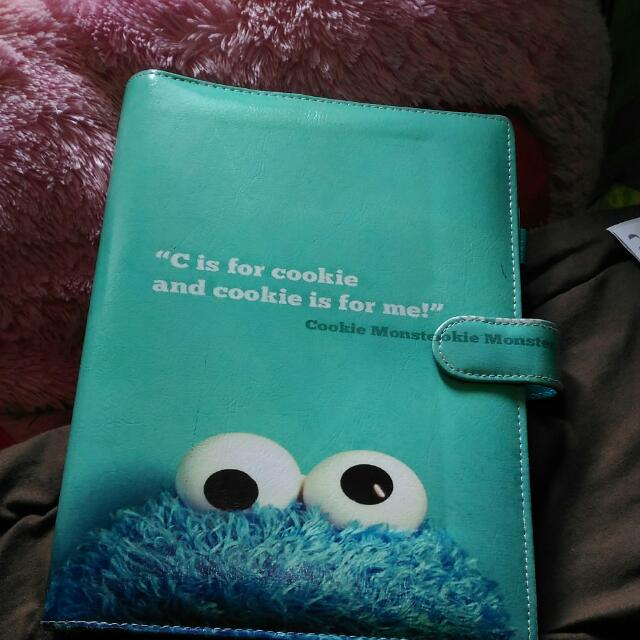 BINDER BESAR COOKIE MONSTER