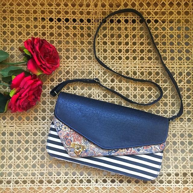 Blue Patterned Sling (from Thailand)