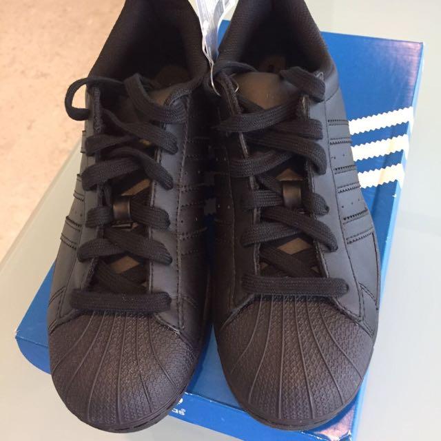 quality design cecc8 f9794 Brand New In Box Adidas All Star All Black Trainers, Women's ...