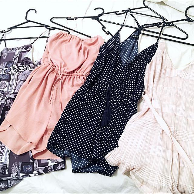 BULK PLAYSUITS/DRESSES