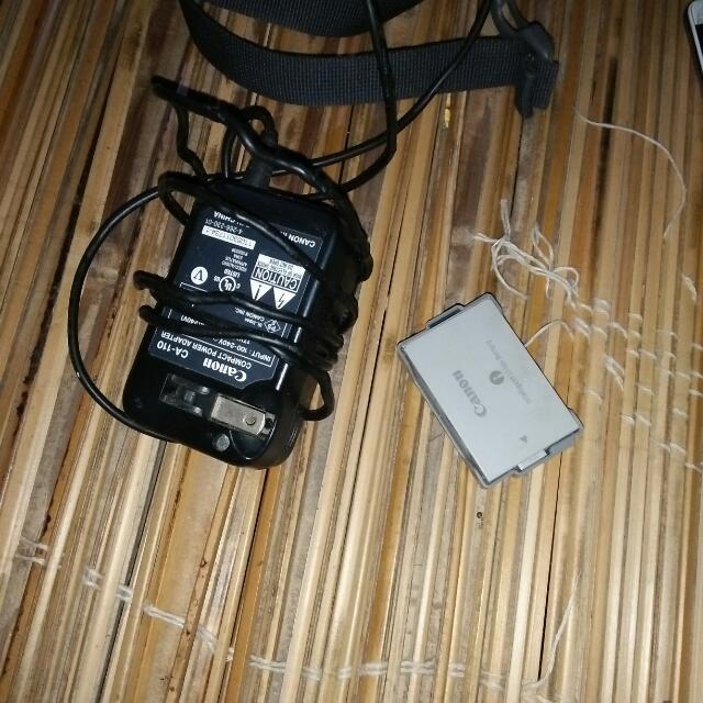 Canon Vixia Charger And Battery