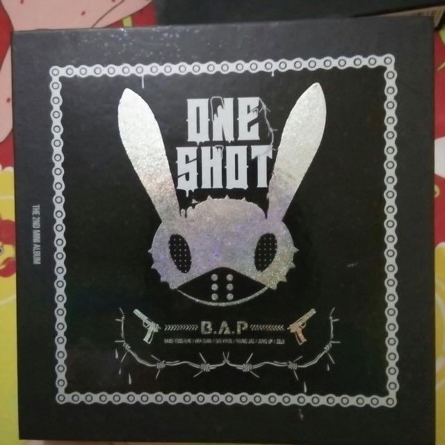 [CD] B.A.P - 2ND MINI ALBUM : ONE SHOT
