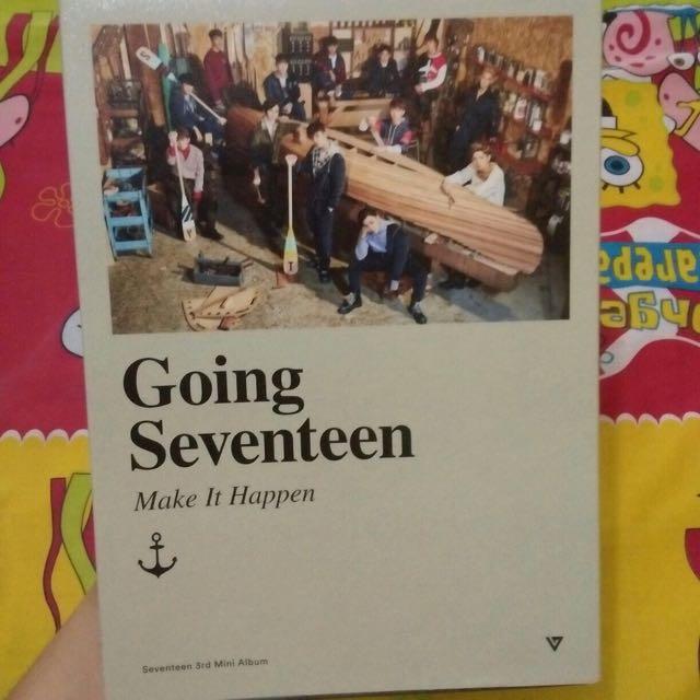 [CD] SEVENTEEN - 3RD MINI ALBUM : GOING SEVENTEEN (VER.B / MAKE IT HAPPEN)
