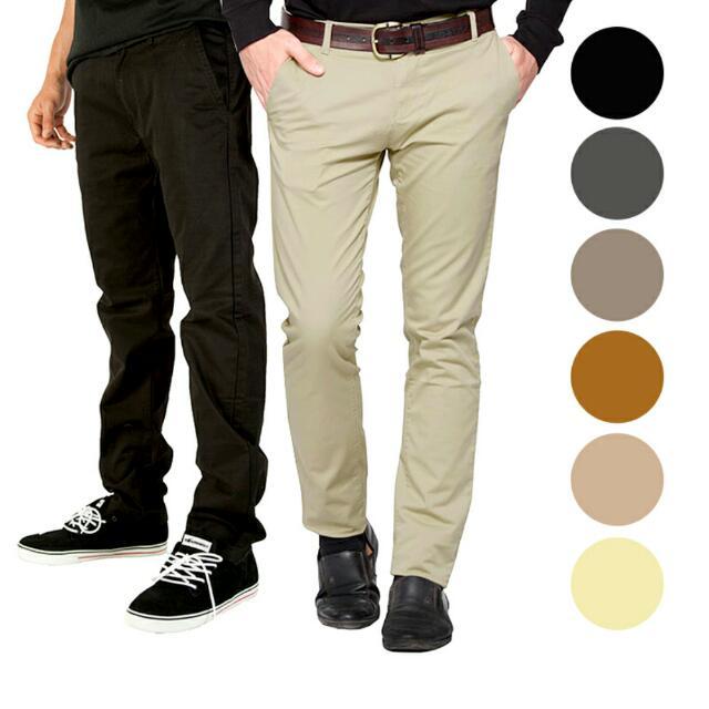 Celana Chino Formal •|• Bahan Strech