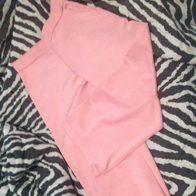 Celana Cullote Panjang Pink