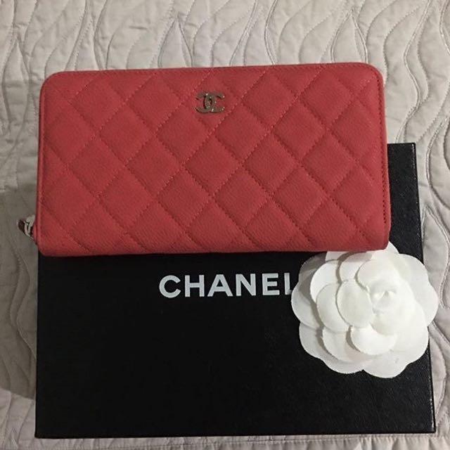 Chanel Wallet Zipper