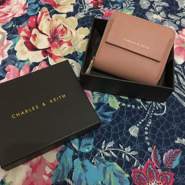 Charles And Keith Mini Wallet
