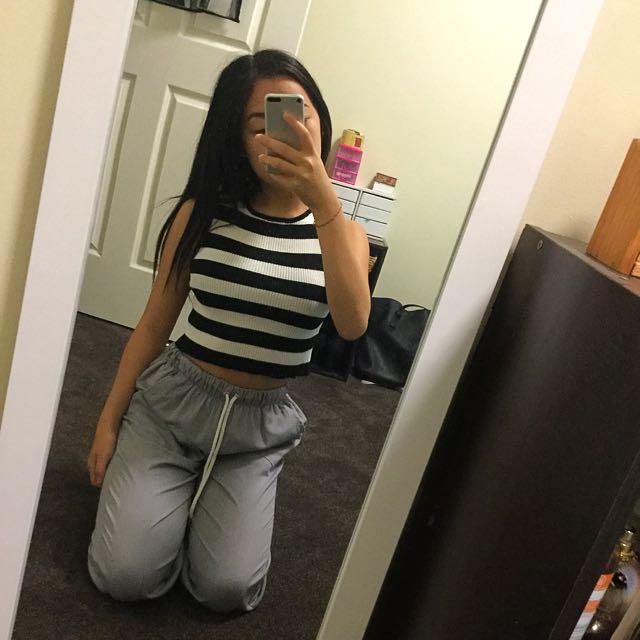 CHEEP stripe top