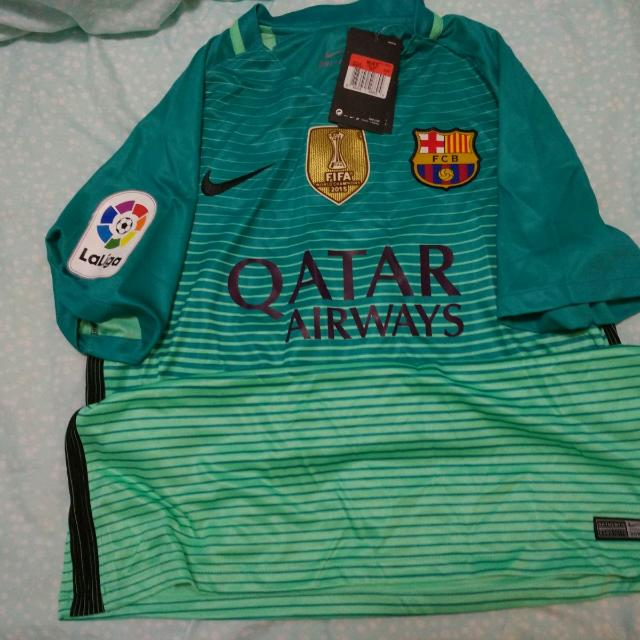 new style 7e630 01502 Clearing Personal Collection: Barcelona 16/17 3rd Kit