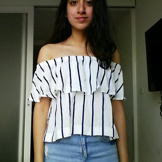Cotton On Off-shoulder Top - Size XS