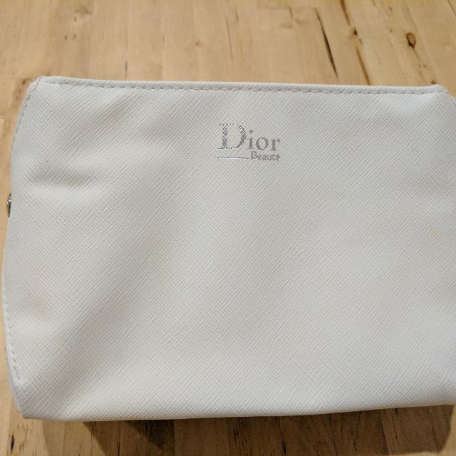 Dior & Elizabeth Arden Makeup Bag