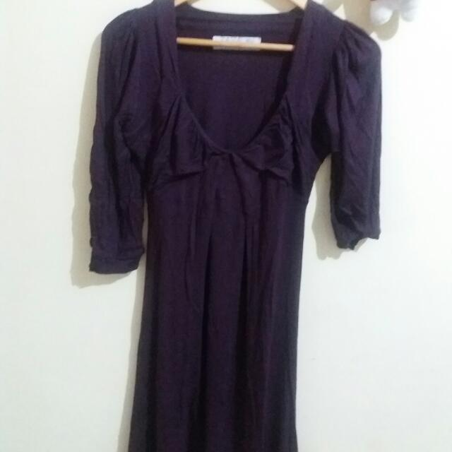 Dress ZARA Bahan Viscose