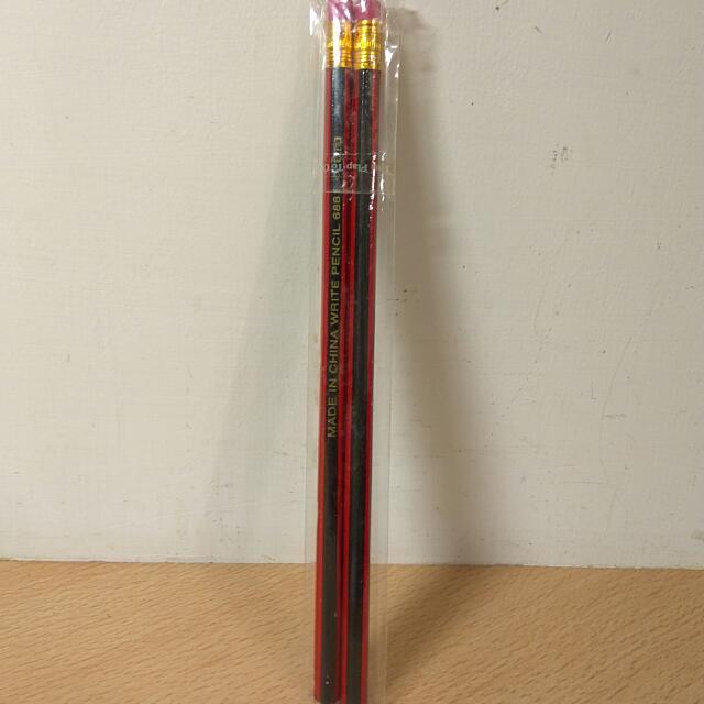 [Ericaca 愛挖寶] 極簡 復古鉛筆兩件組~全新未使用💟#八月免購物我送你