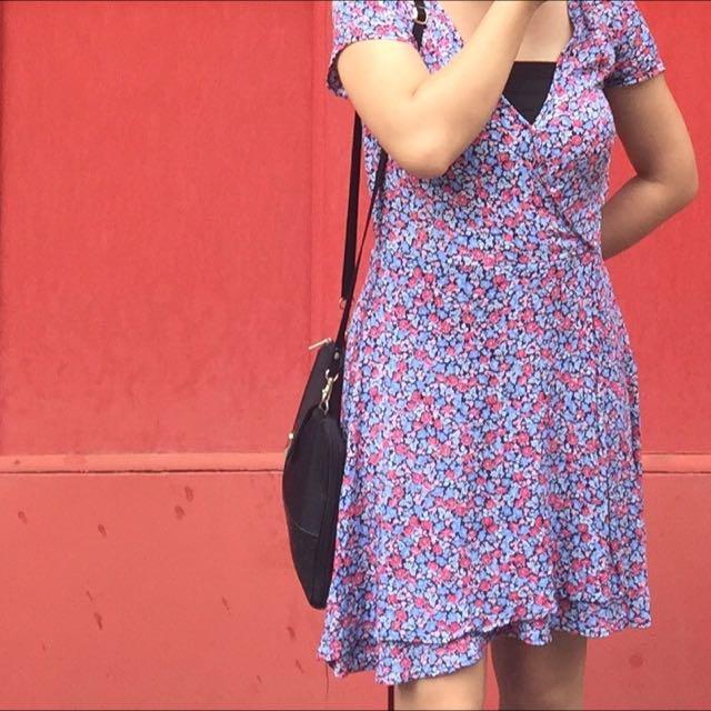 Factorie - Wrap Floral Dress