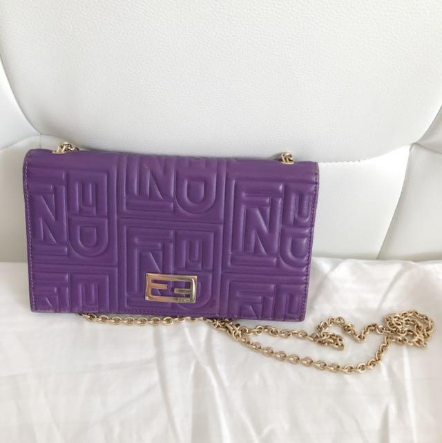 Fendi Chain Bag ( Wallet/ Woc)