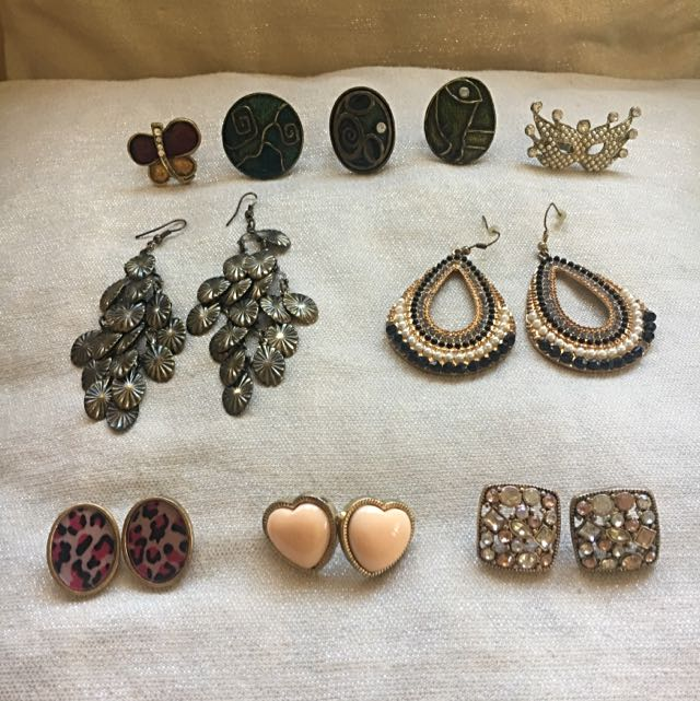 All Forever21 Accessories (Rings, Earrings)