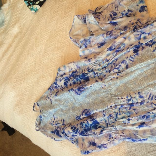 Forever New Blue Maxi