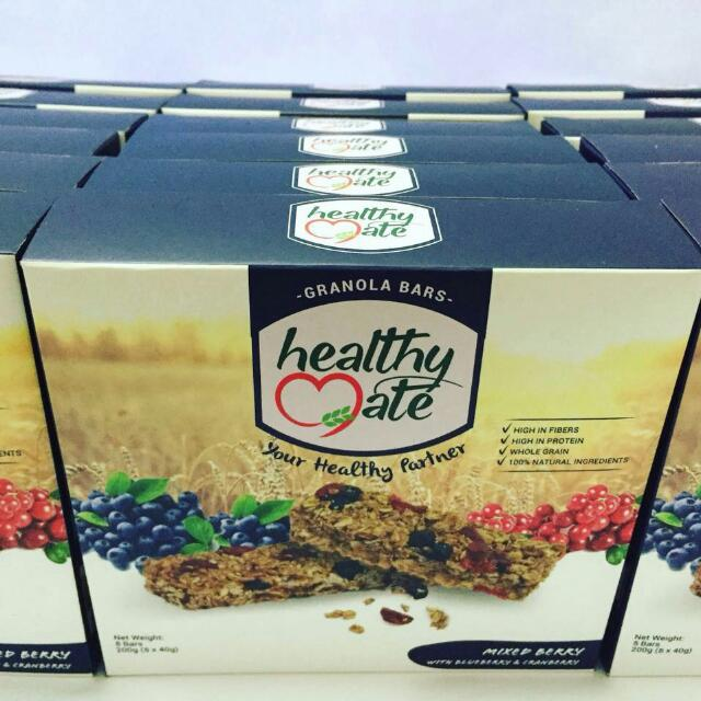 Healthy Mate Granola Bar Mixed Berry