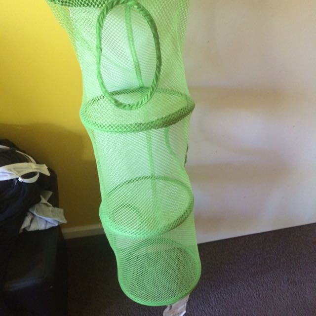Green Mesh IKEA Hanging Storage