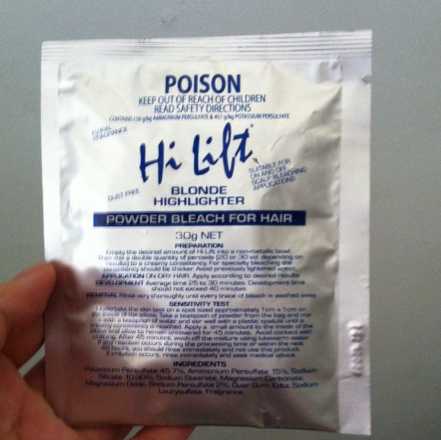 Hi Lift Powder Bleach