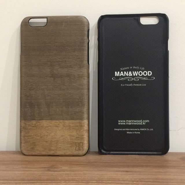 Ip6 Plus 原木造型手機殼