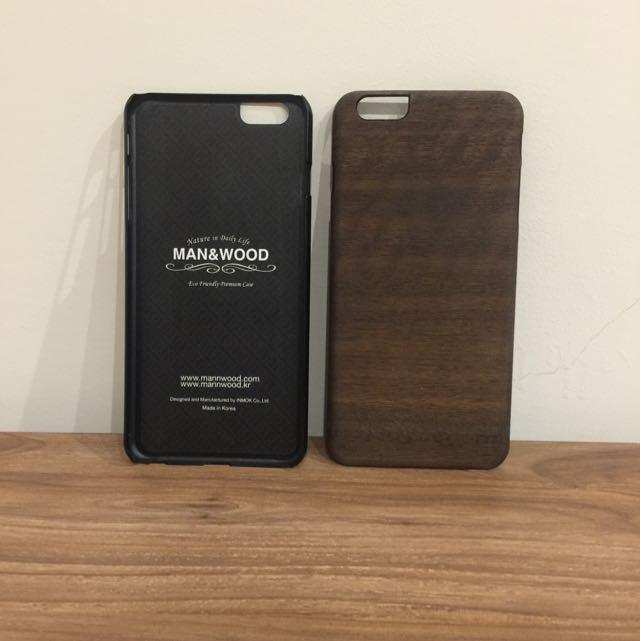 Ip6 Plus 木紋手機殼 超質感