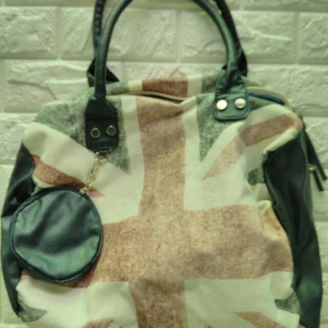 Jennyfer Union Jack bag