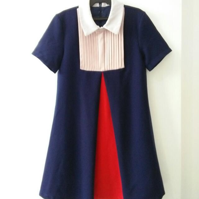 Korean Collared Dress