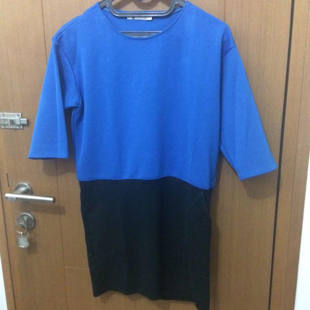 Korz Blue Dress 30K