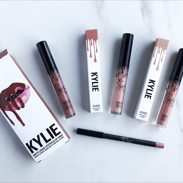 Kylie Lip Kit & Gloss Bundle
