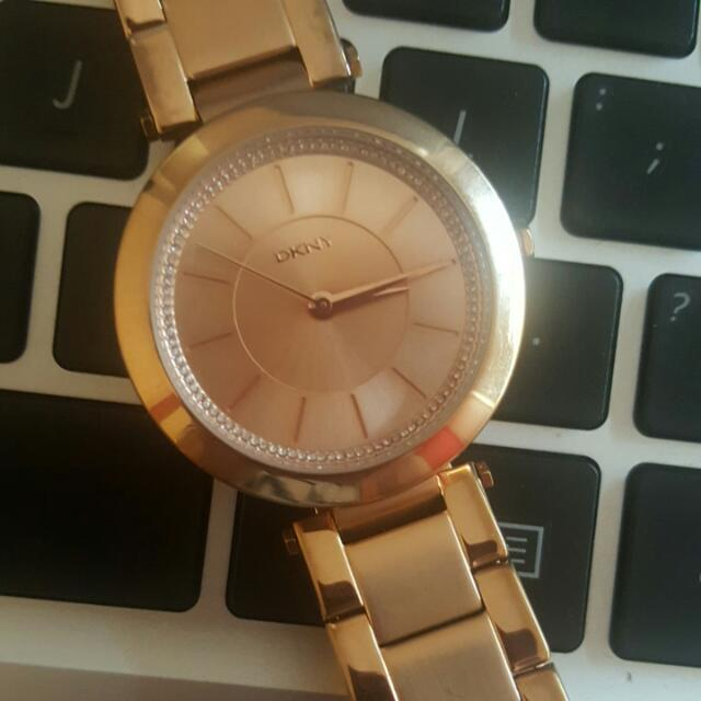 Ladies DKNY Stanhope Watch (rosegold