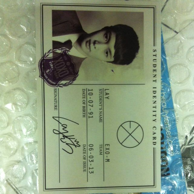 Lay Official Photo card