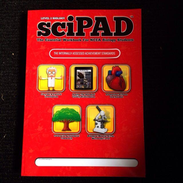 Level 2 Biology sciPad Internal Workbook