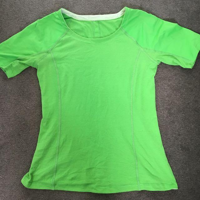 Lululemon Green Small T Shirt