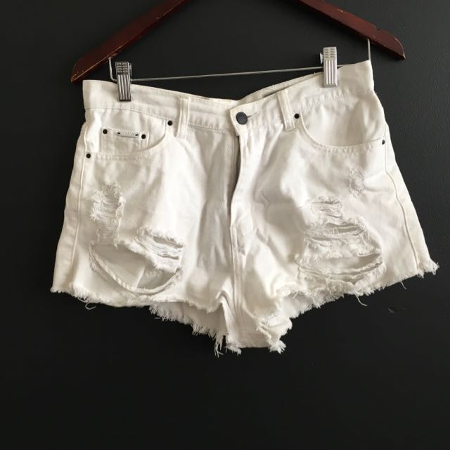 Lyla And Co White Shorts