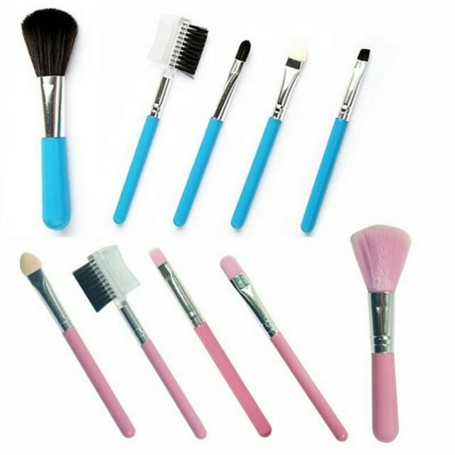 Make Up Brush Set 5 Pcs