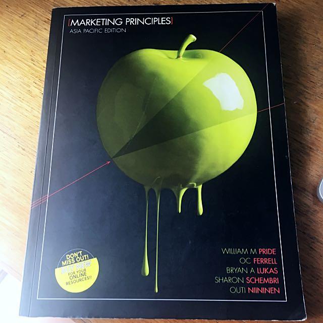 Marketing principles textbook