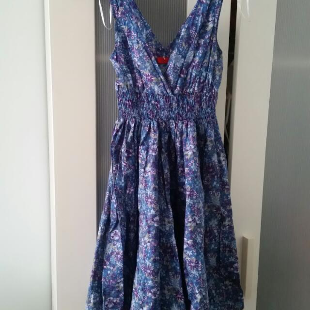 New Summer Floral Dress xS