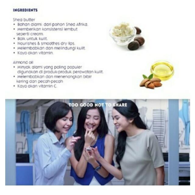 Nivea Lip Butter Vanilla & Macadamia 16.7gr, Kesehatan & Kecantikan, Rias Wajah di