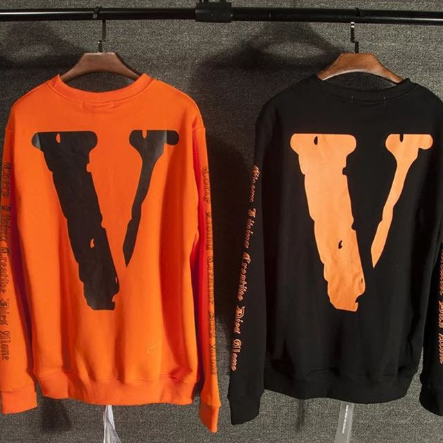 Off White X Vlone Sweater Pullover, Men's Fashion, Clothes on ...