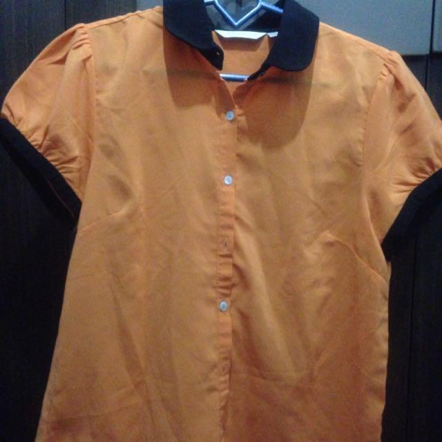 Orange Atmosphere Shirt